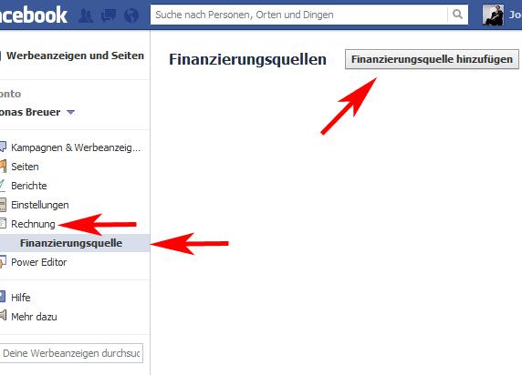 Facebook Gutschein einlöse